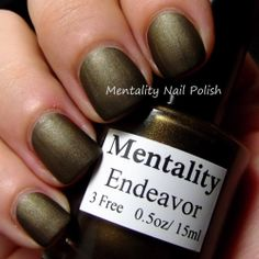 Mentality - Endeavor. Swatched on stick, 60:-