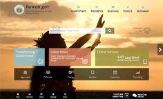 Applying app design concepts to website design