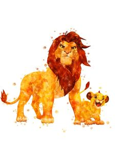 decorate shop This listing is a DIGITAL printable file. 2 JPG files High-Resolution inches x cm) inches x cm) Print out this artwork from your ho Lion King Poster, Lion King Art, The Lion King, Roi Lion Simba, Lion King Simba, Simba Disney, Disney Lion King, Disney Kunst, Disney Art