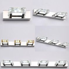 buy new led light wall square crystal mirror lamp 16325062cm long champagnewhite led wall light ic #led #driver #ic