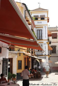 Lunching in Seville