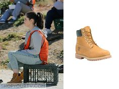 Switched at Birth: Season 4 Episode 2 Bay's Yellow Lace Up Shoes