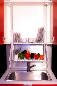 This Contraption Saves Counter Space, Dish Towels, Time and Maybe Even Lives - LifeEdited