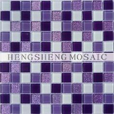 Purple Tile for Wall Decoration
