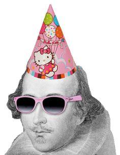 Shakespeare Hello Kitty Birthday Hat