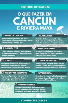 O que fazer em Cancun e Riviera Maya - Roteiro de Viagem de 7 ou 15 dias Save 70 to 80 % on Resort to Cancun, Cabo, Orlando etc. Cancun Mexico, Riviera Maya Mexico, Mexico Xcaret, Travel Words, Places To Travel, Travel Destinations, Vacation Packages, Future Travel, Travelling Tips