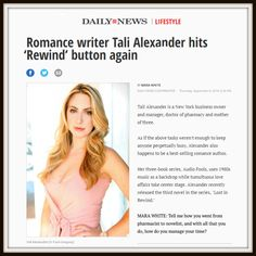 If you're still not sick of me— read my latest NYDailyNews interview, where I talk about being an author and a drug dealer. 😁—😅—😳  • A big thank you to @authormarawhite for her wonderful questions and kind words. 💋   http://bit.ly/TaliAlexanderDailyNews #share 😘