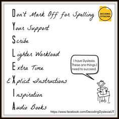 Accommodating Students With Dyslexia >> 29 Best Accommodations Images Dyslexia Learning Disabilities