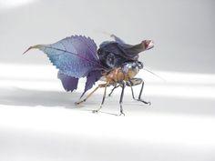 Японский скульптор и художник Хироши Шинно (Hiroshi Shinno) Фантазийные насекомые.