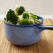WW Image of broccoli with cheese sauce