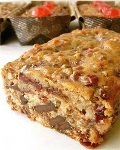 Chocolate Fruitcake on MyRecipeMagic.com