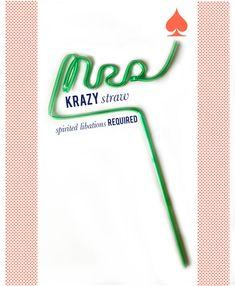 custom krazy straws