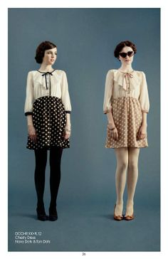 Dear Creatures Fall 2012  (I can see this being worked into summerwear, too.....)