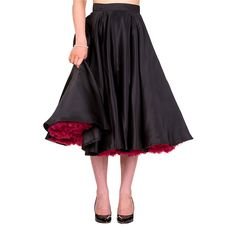 Banned Miracles Midi Skirt (Black)