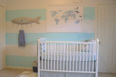 Project Nursery - Turquiose Nautical Nursery
