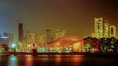 Butterfly Pavilion – Noor Island UAE by Dubai Design Week, Butterfly Pavilion, Opera House, New York Skyline, Island, Uae, Building, Travel, Group