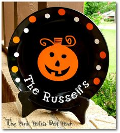 Cute Halloween idea (and it's my maiden name!!!)