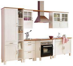 Küchenzeile, HELD MÖBEL, »Avignon«, ohne E-Geräte, Breite 290 cm   {Küchenzeile mit geräten und aufbau 26}