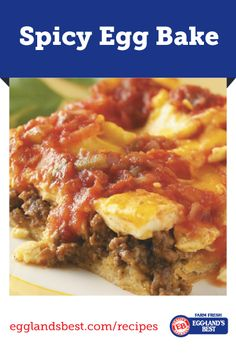 A great way to use leftover taco meat. Use different salsas to achieve different tastes. #EgglandsBest #Breakfast #Brunch #Spicy #Recipe