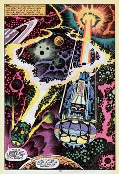 Jack Kirby's 2001 A Space Odyssey – Splash Page Gallery!