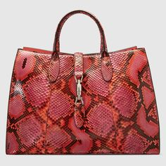 Jackie Soft python top handle bag