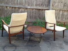 Mid Century Modern High back Lounge Chair by ModernandAncientLLC, $350.00