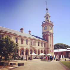 Customs House in Newcastle East, NSW