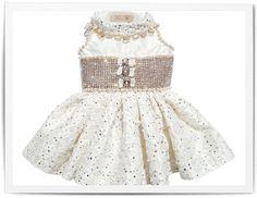 Romance Swarovski Dress  $3,995.00 at teacup puppies