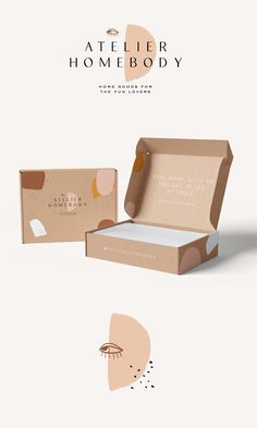 Pin by Stylishcreative on Stylish Creative Portfolio Craft Packaging, Food Packaging Design, Packaging Design Inspiration, Box Packaging, Bakery Packaging, Clothing Packaging, Jewelry Packaging, Logo Design, Brand Design