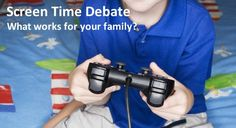 Red Poppy Consulting - Blog - Screen Time Debate: What works for yourfamily?