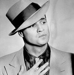 Marlon Brando photographed for 'Guys and dolls' 1955