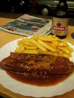 Hamburg's curry wurst