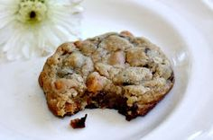 Recipes For Divine Living: Butterscotch Chocolate Chip Oatmeal Cookies