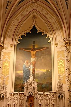 Natchez, MS.  St. Mary's Cathedral.  Rebecca Phillips Old Catholic Church, Catholic Churches, Cathedral Basilica, Cathedral Church, Church Architecture, Beautiful Architecture, Natchez Mississippi, Southern Mansions, Church Pictures