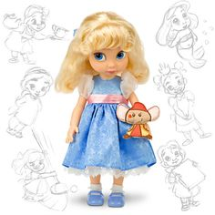 Disney Animators' Collection Cinderella Doll - 16''   Dolls   Disney Store $24.50