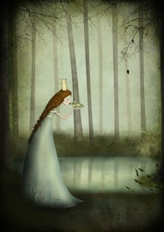 The Frog Prince by Majali