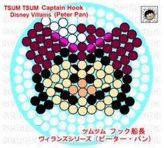 tsum tsum perler captain hook