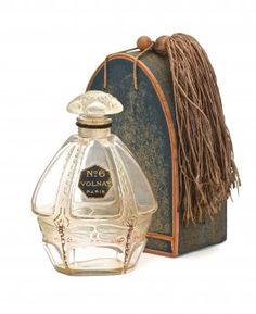 *Ca. 1920 J. Viard and Depinoix, Volnay No. 6 Perfume Bottle.
