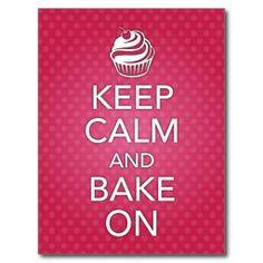 Shop Keep Calm and Bake On Recipe Card Purple created by wrkdesigns. No Bake Desserts, Just Desserts, Bakery Kitchen, Pasta Soup, Recipe Binders, Artisan Food, Calm Quotes, Brownie Bar, Cookbook Recipes