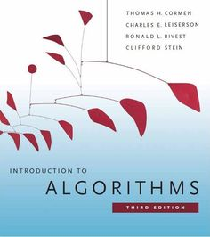 I'm selling Introduction to Algorithms by Thomas H. Cormen, Charles E. Leiserson, Ronald L. Rivest and Clifford - $32.00 #onselz