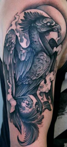 phoenix tattoo http://activelifeessentials.com/body-canvas/ #bodyart #tattoos