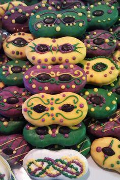 Mardi Gras Nutter Butter Cookies 2