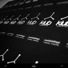 kiub clothing tag, label branding