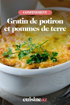 Ce gratin de potiron et pommes de terre facile est parfait pour cuisiner en famille durant ce confinement.  #recette#cuisine#pates#confinement #gratin #potiron #pommedeterre
