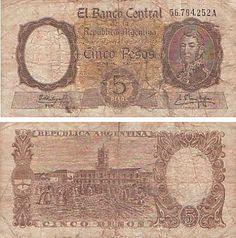 5 pesos moneda nacional Beef Cattle, Banknote, World Coins, Arte Popular, 16th Century, Banks, Samurai, Vintage World Maps, Cactus
