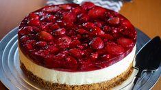 Pudding Desserts, No Bake Desserts, Dessert Recipes, Easy Bake Cake, No Bake Cake, Cheesecake Recipes, Cookie Recipes, Strawberry Pretzel Salad, Norwegian Food