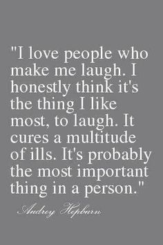 So true.. Laughter is the best medicine there is!!!