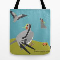 Tote Bag featuring summer! by Fjærdrakt