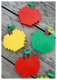 Lego Apples Fall Colors