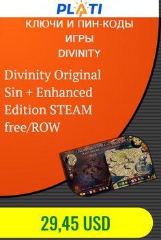 Divinity Original Sin   Enhanced Edition STEAM free/ROW Ключи и пин-коды Игры Divinity